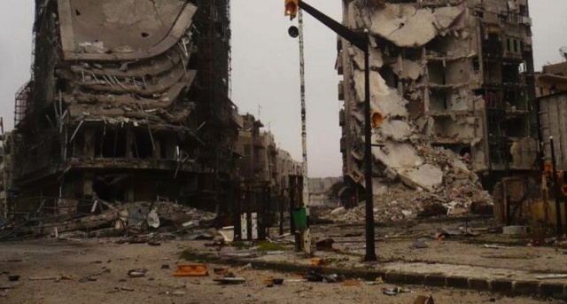 Syria destroyed
